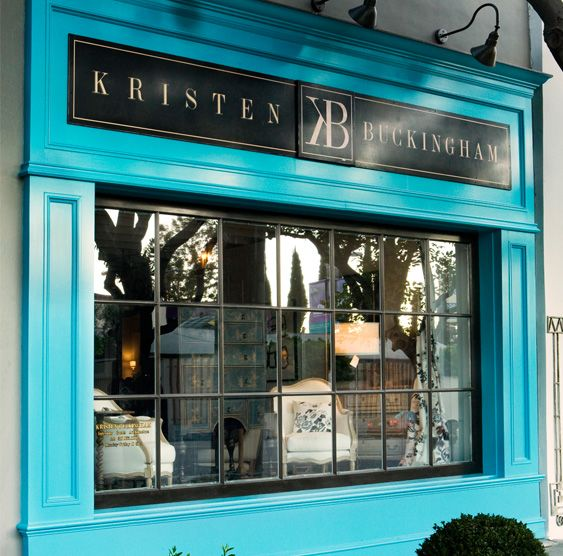 Shop Front Design Retail: I Really Like This Storefront Color!!