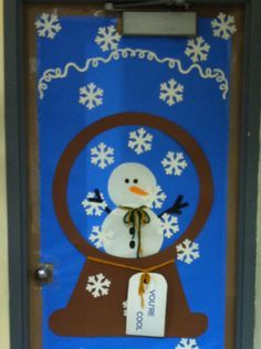 Winter Door Decorating Ideas For School Sao Mai Center