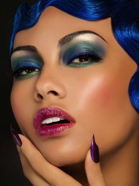 make+up+cheekbones | 1960s Makeup for Spring By Frances Hathaway. #sixties #blogdaanapri