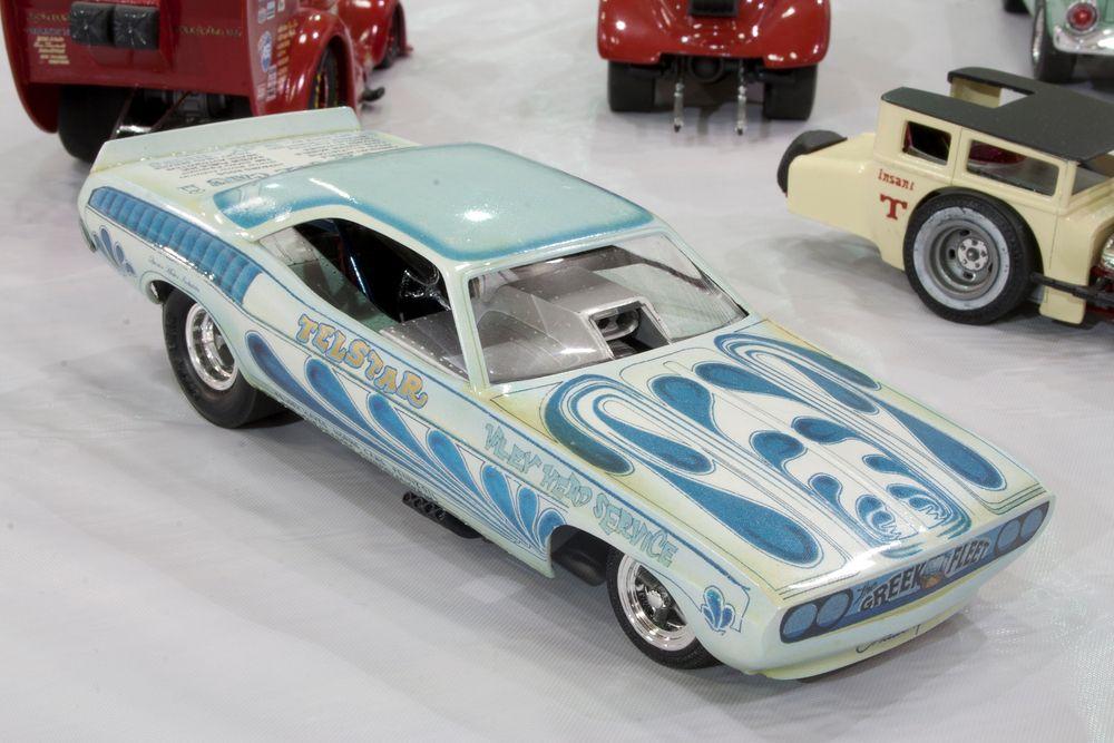 Wild Paint Funny Car.