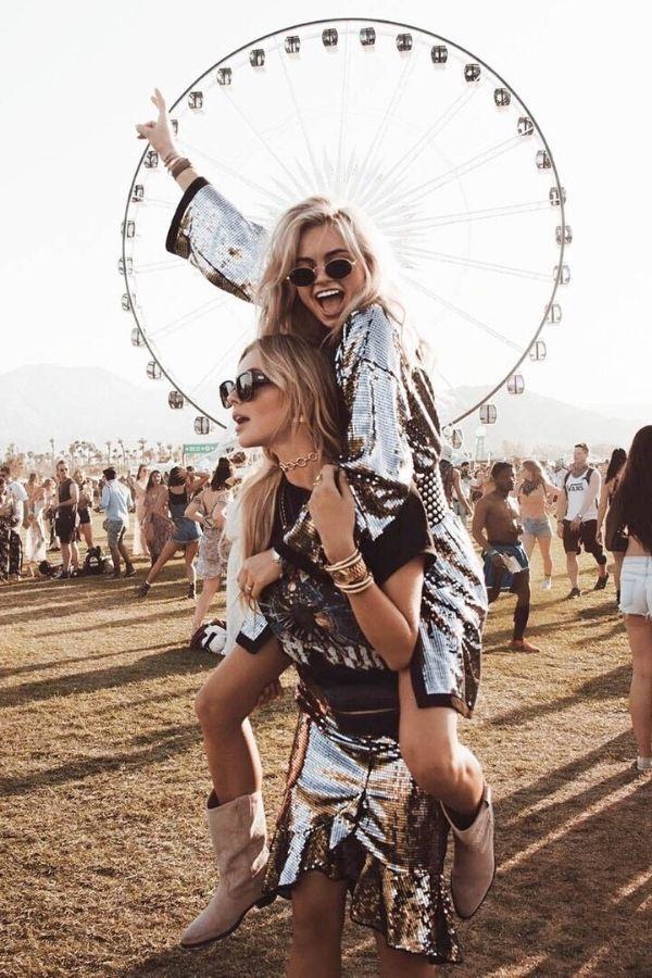 Image ©fstvl.co.za| COACHELLA ACCESSORY #7. SEQUINS | We gather 7  festival accessories to add to your list of Coachella outfit ideas.  7 festival essentials to create the most smashing Coachella Style: Coachella Clothes, Coachella Jewelry, Coachella Fashion.  #CoachellaFashion #CoachellaOutfit #CoachellaAccessories.