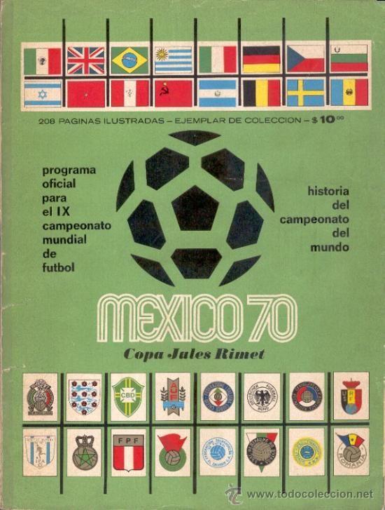 MEXICO 70 - REVISTA OFICIAL DEL IX CAMPEONATO MUNDIAL DE FUTBOL - Foto 1 20e2aab7c09b4