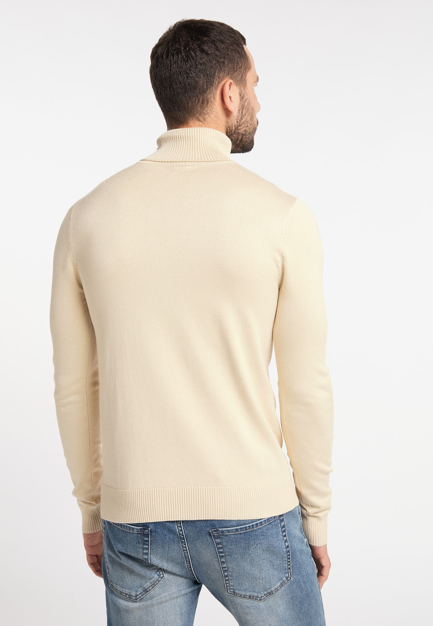 DREIMASTER Pullover Herren, Beige, Größe L
