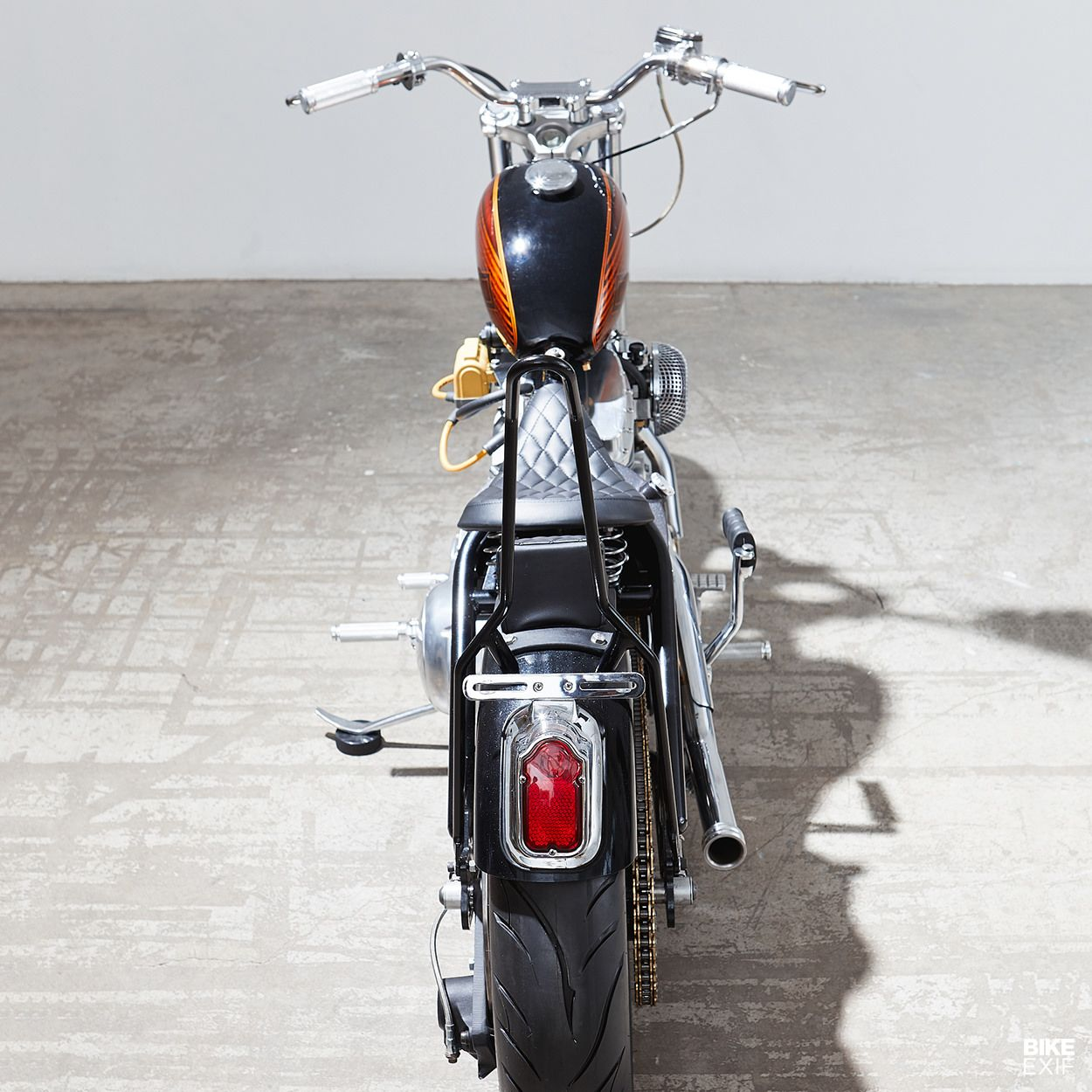 Lo Fi Perfection A Harley 883 Bobber From Canada Bobber Bike Exif Harley