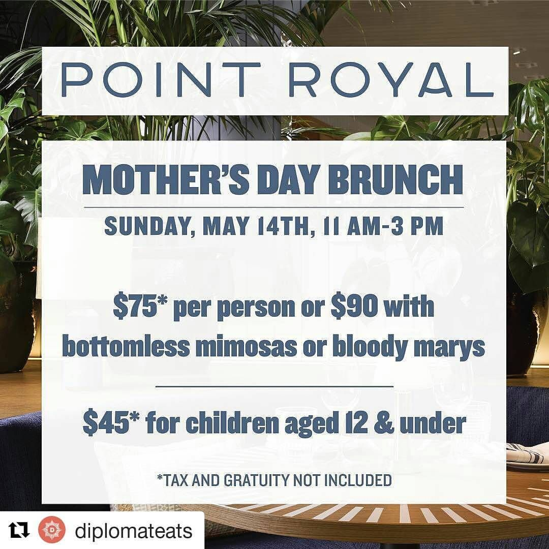 Credit to diplomateats ・・・ Treat mom like a queen this