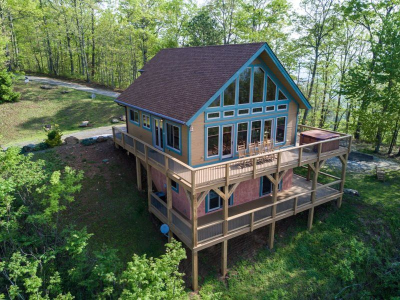 High haven cabin pet friendly bryson city vacation
