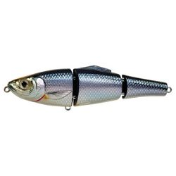 "Click Picture to Purchase http://www.fratelliemporium.com/catalog/index/cpath/Fishing--Lures/pagenumber/2/norec/24/totalrecords/626 Blueback Herring Swimbait 4 1/2"", Number 2 Hook Size, Silver/Blue"