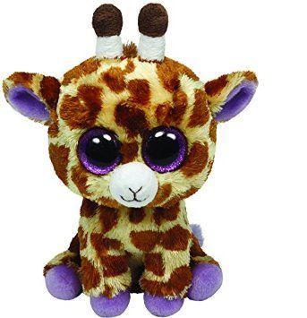 98ff3b1f3db Ty - Ty36011 - Peluche - Beanie Boos - Moyen - Safari La Girafe - 15 ...