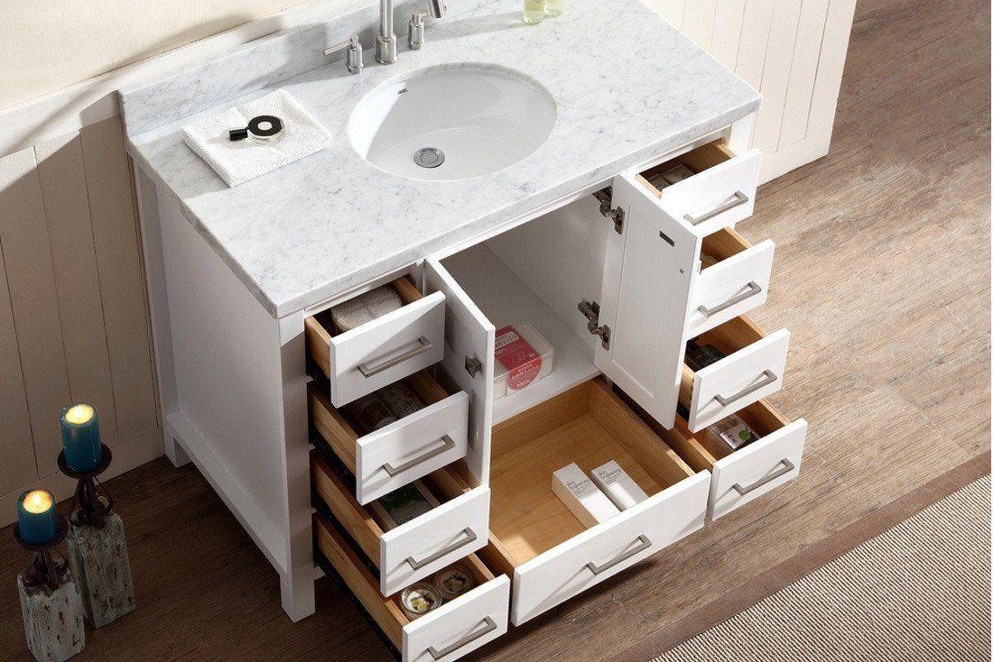 Ariel Cambridge 43 Bathroom Vanity Tops Bathroom Sink Tops