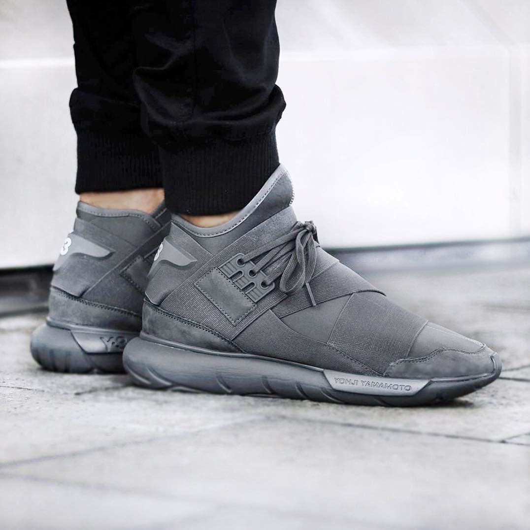 df9eb6eacaae4 Y-3 Qasa High Vista Grey  sneakernews  Sneakers  StreetStyle  Kicks