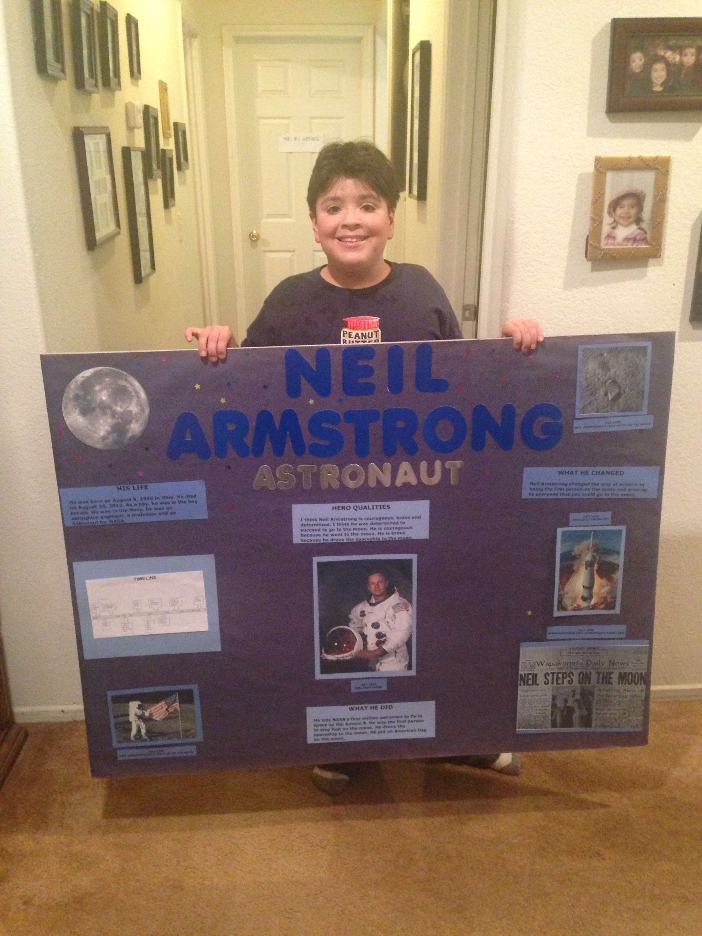 neil armstrong wax museum school - photo #41