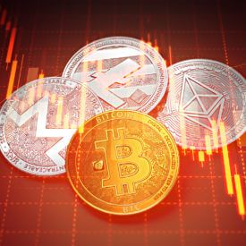 Cryptocurrency live trading charts