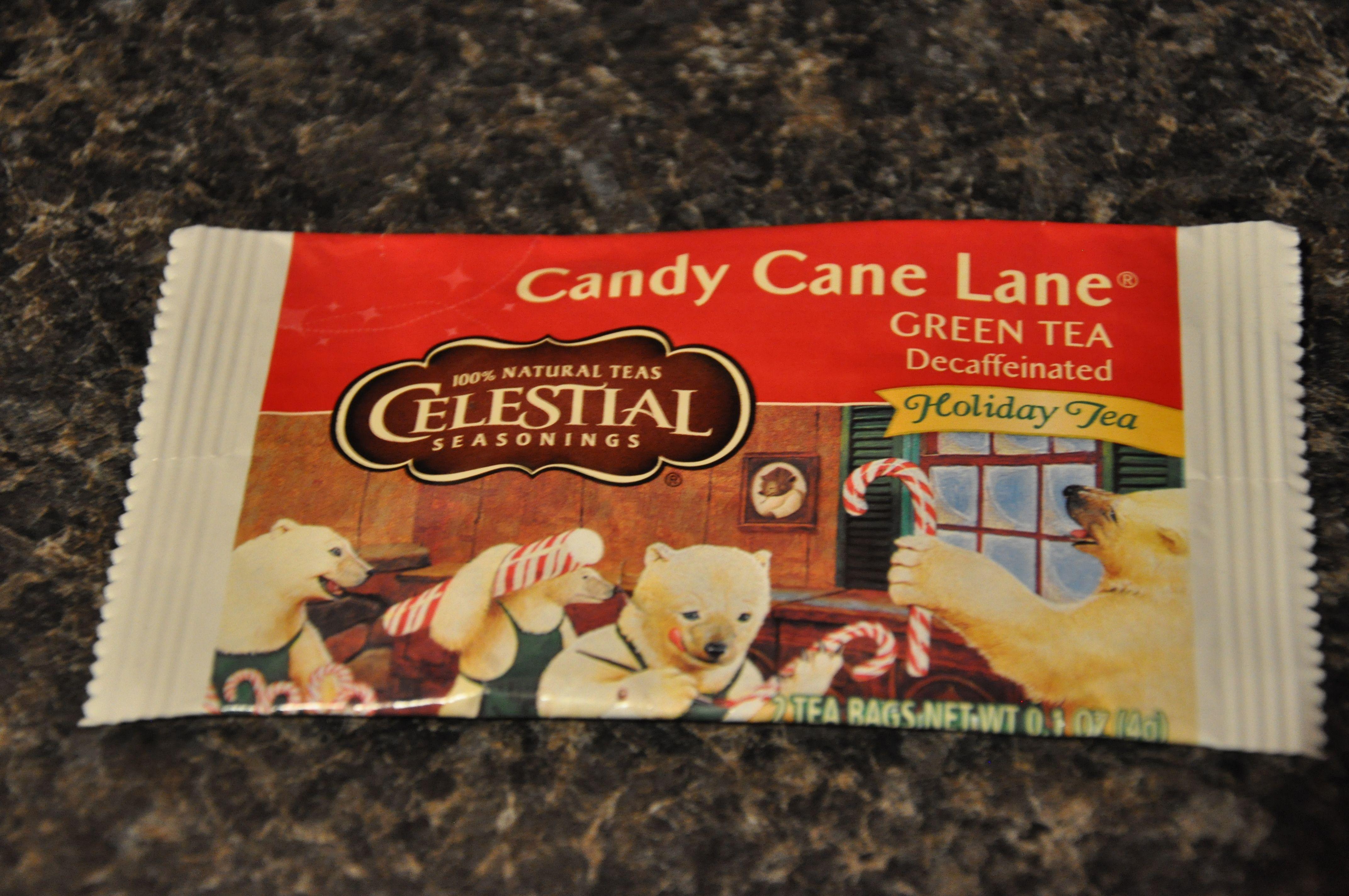Celestial Seasonings Candy Cane Lane Green Tea