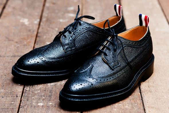 2621f21733bd Thom Browne Brogues. WITH THE SIMPLE touch of a tri-color ribbon ...