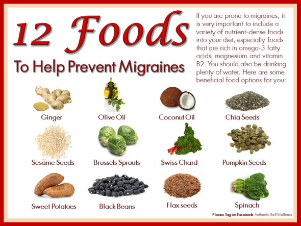 Best Foods To Eat For A Migraine