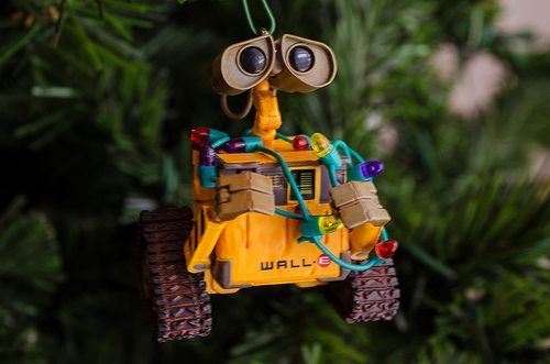Wall-E | Hallmark ornaments, Wall e, Christmas ornaments