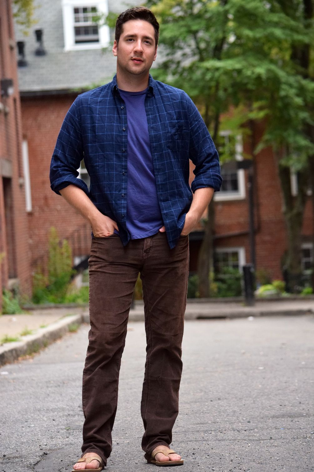 His Fall Fashion With Corduroys And Layers Fashion Mens Tops Fashion Beauty