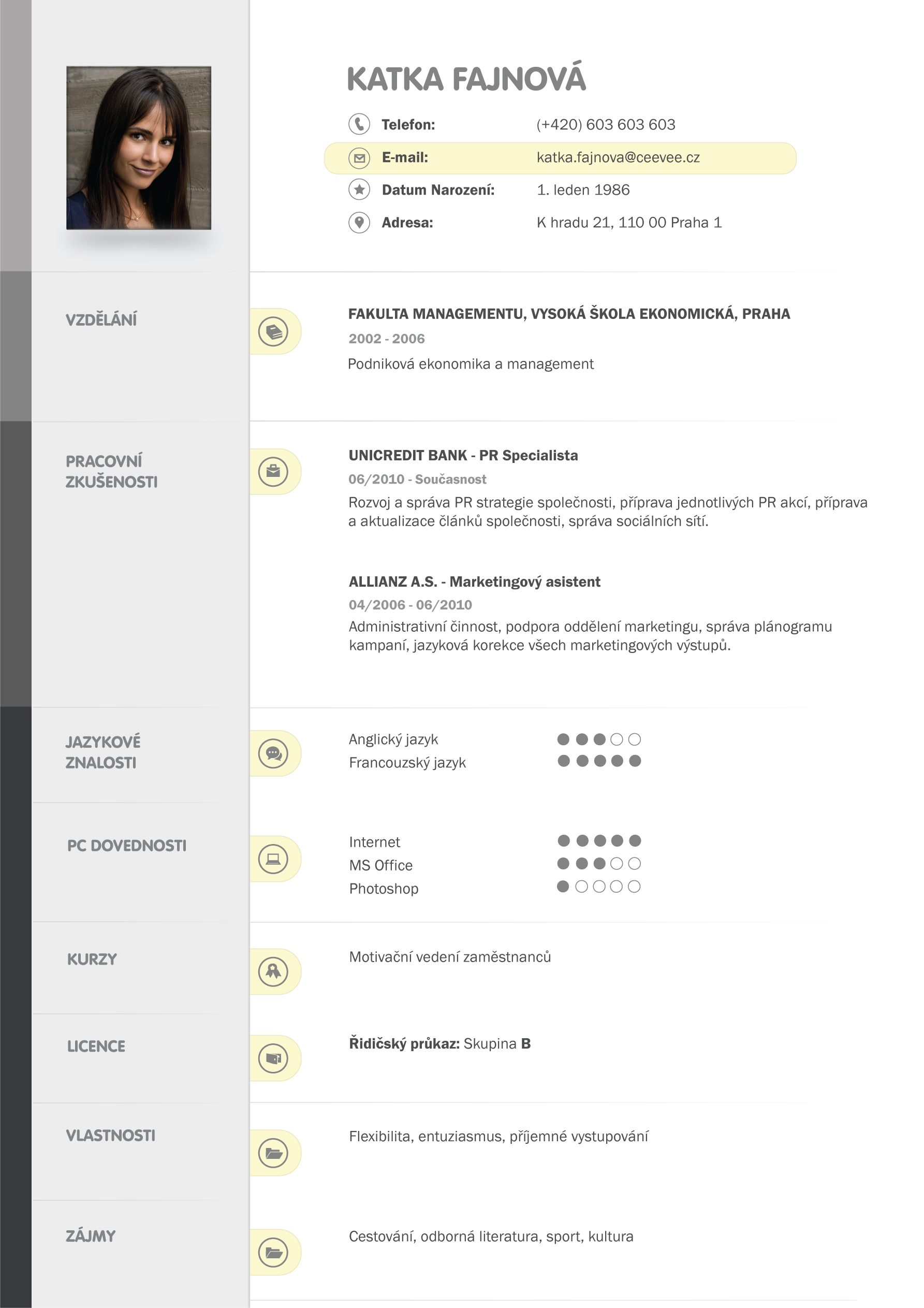 vzor cv resume templates infographic resume template curriculum resume cv template