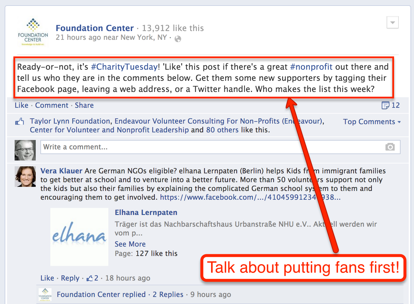 Foundation Center Foundation Web Address Facebook Updates