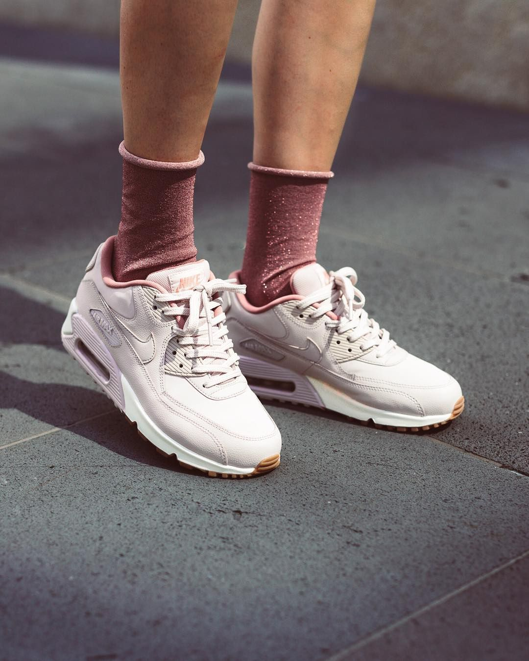 Nike Wmns Air Max 90 Leather Silt Red Nike Air Max Outfit Nike Free Shoes Nike Air Max For Women