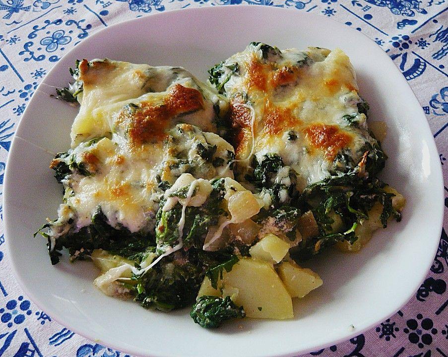 Rezepte kartoffeln spinat