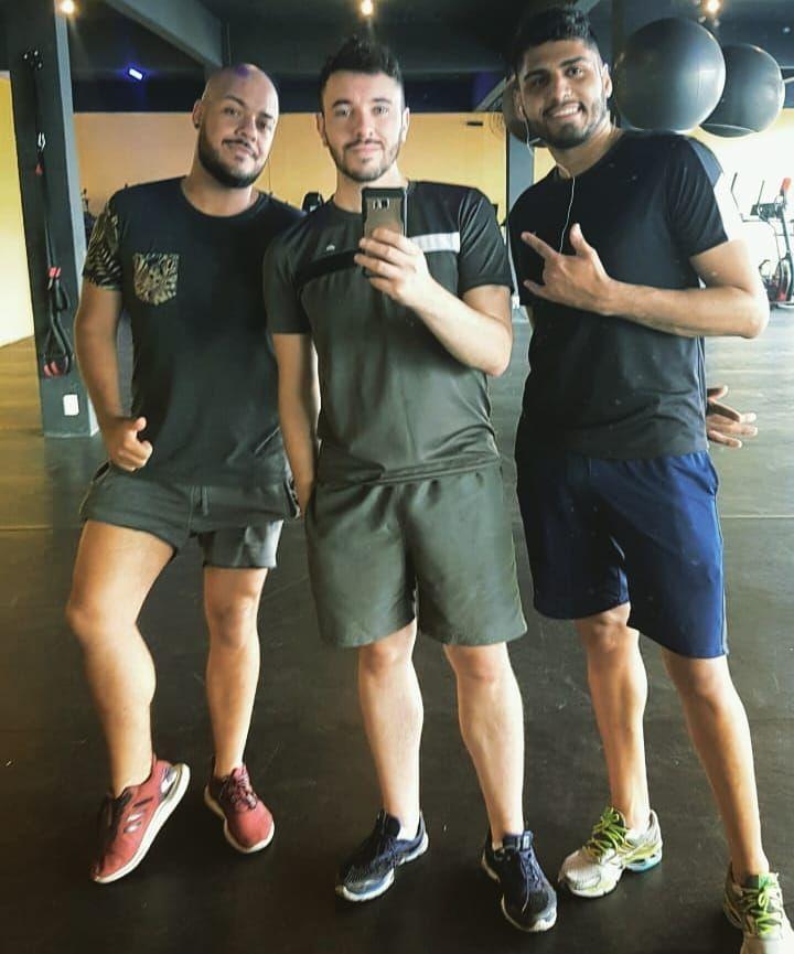 Sou rico de saúde e de amigo 🎵 #fitness  #sqn #amovcs #sabadou #picoftheday #b...
