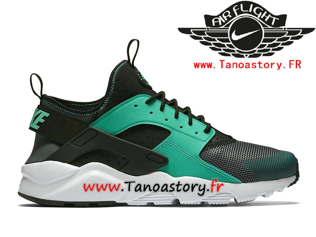 Chaussures Homme Nike Air Huarache Ultra Noir Prix Pas Cher Vert Noir Ultra 2f755d