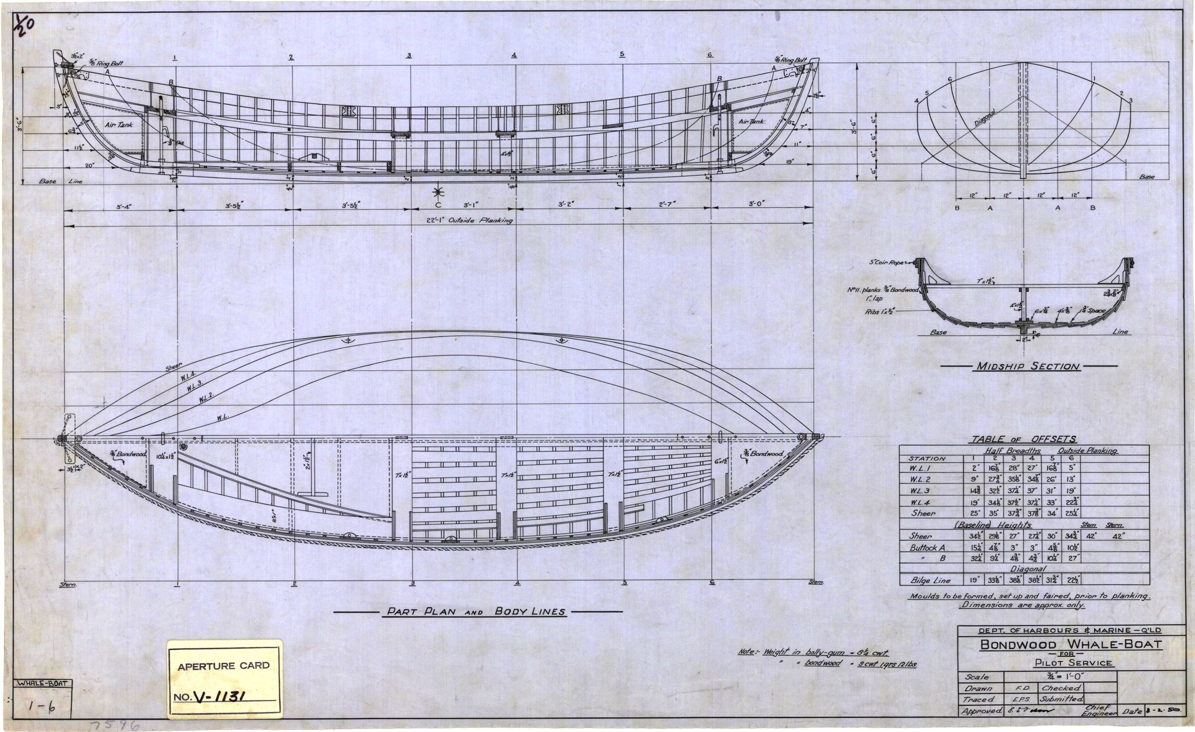 Whale boat plan, 1950 | Small boats | Pinterest | Boat ...