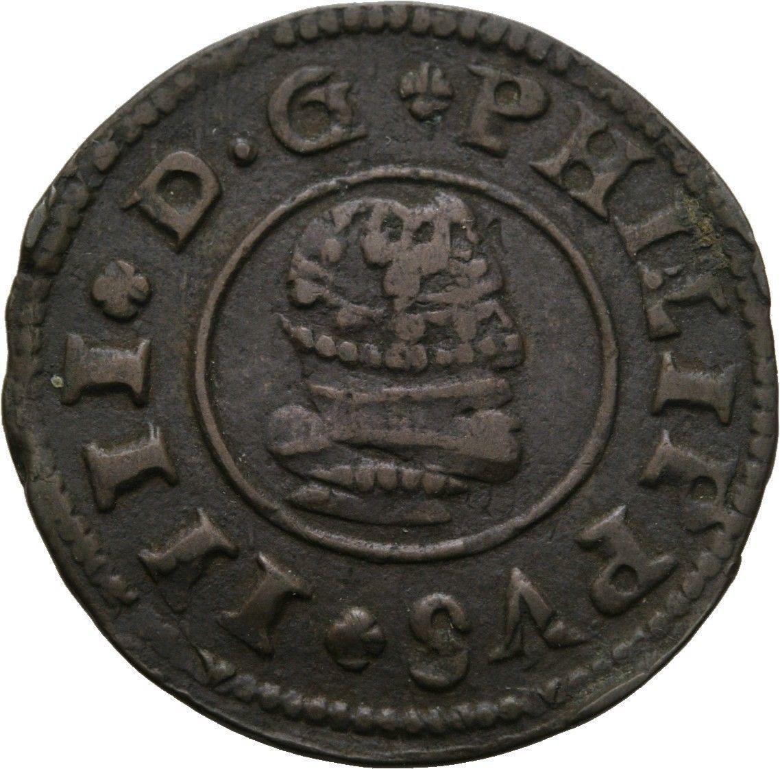 Künker: españa, Felipe IV, 16 maravedis 1662, Madrid