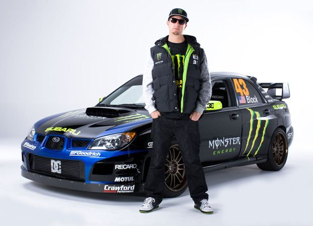 Ken Block Subaru Monster