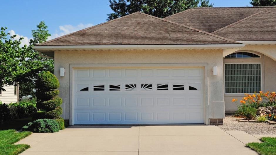 model in gray with optional stockton window inserts raised panel garage doors pinterest garage doors raised panel and chi garage doors