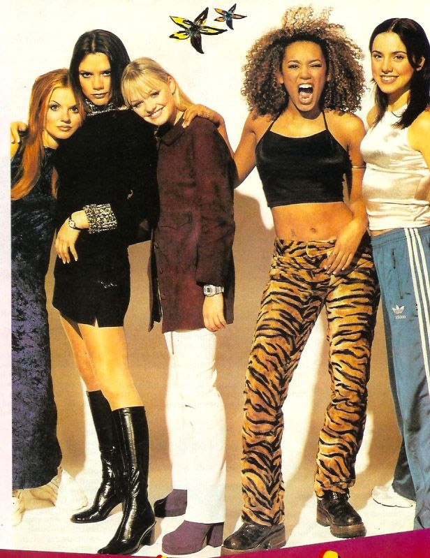 Zig A Zig 90s Baby We Love The 90s Spice Girls Costumes Spice