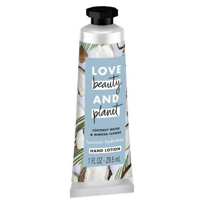 Love Beauty And Planet Coconut Water Mimosa Flower Hand Lotion
