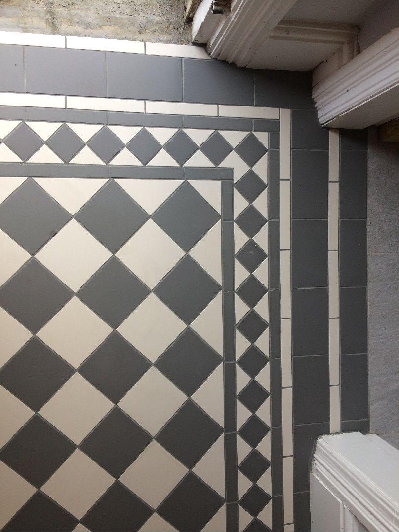 Victorian Floor Tiles Gallery Original Style Floors Period Floors Victorian Hallway Porch Tile Entryway Flooring
