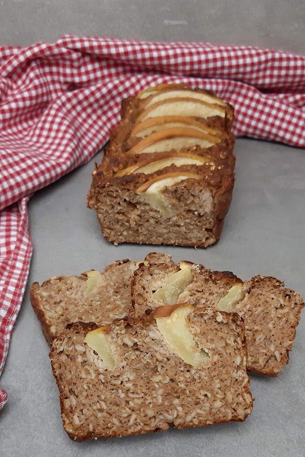 Apfel-Zimt-Brot nach Sophia Thiel Fitness Sweet Kochbuch
