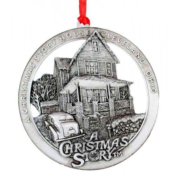 A Christmas Story House Round Ornament A Christmas Story