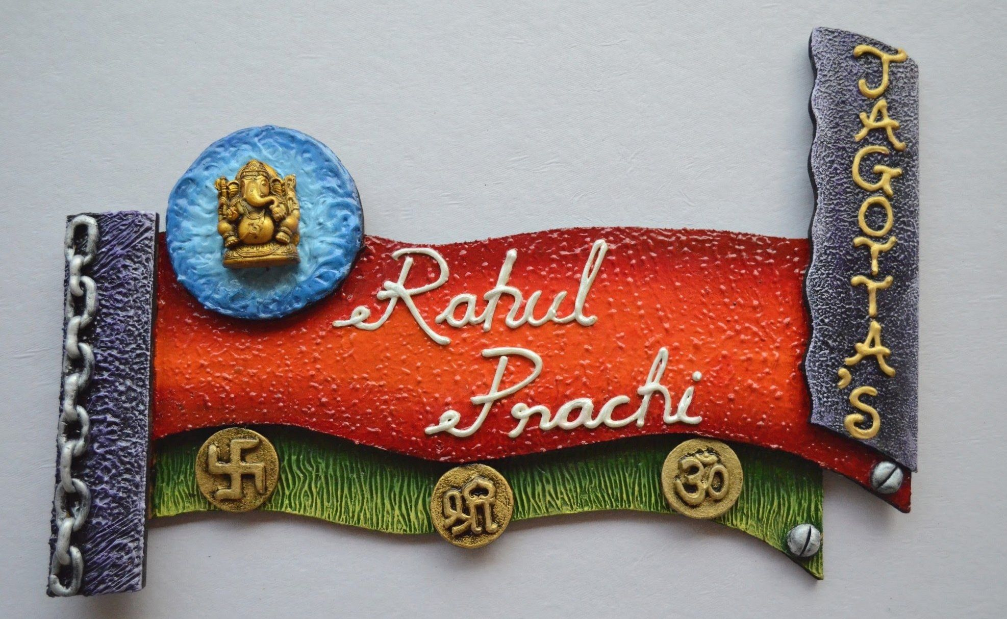 Mural name plate | craft | Pinterest | Craft and Cuttings