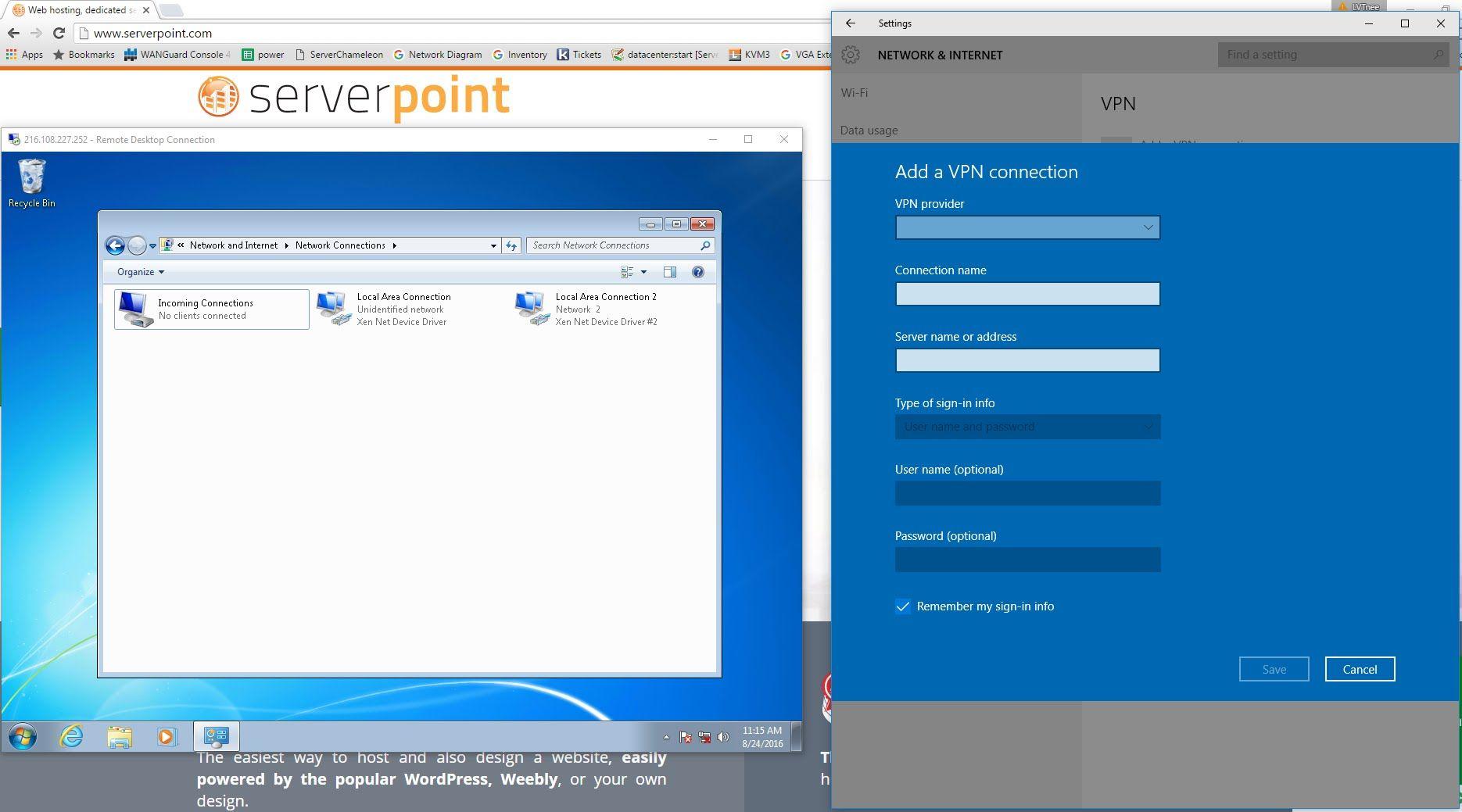 Remote Desktop Through Vpn Windows 7