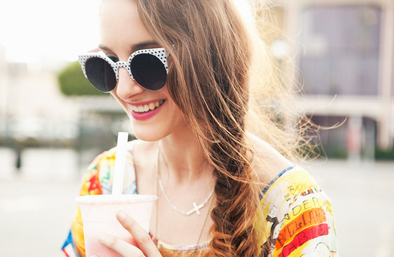 Watch Beauty Street Style: Side Braids andSunglasses video