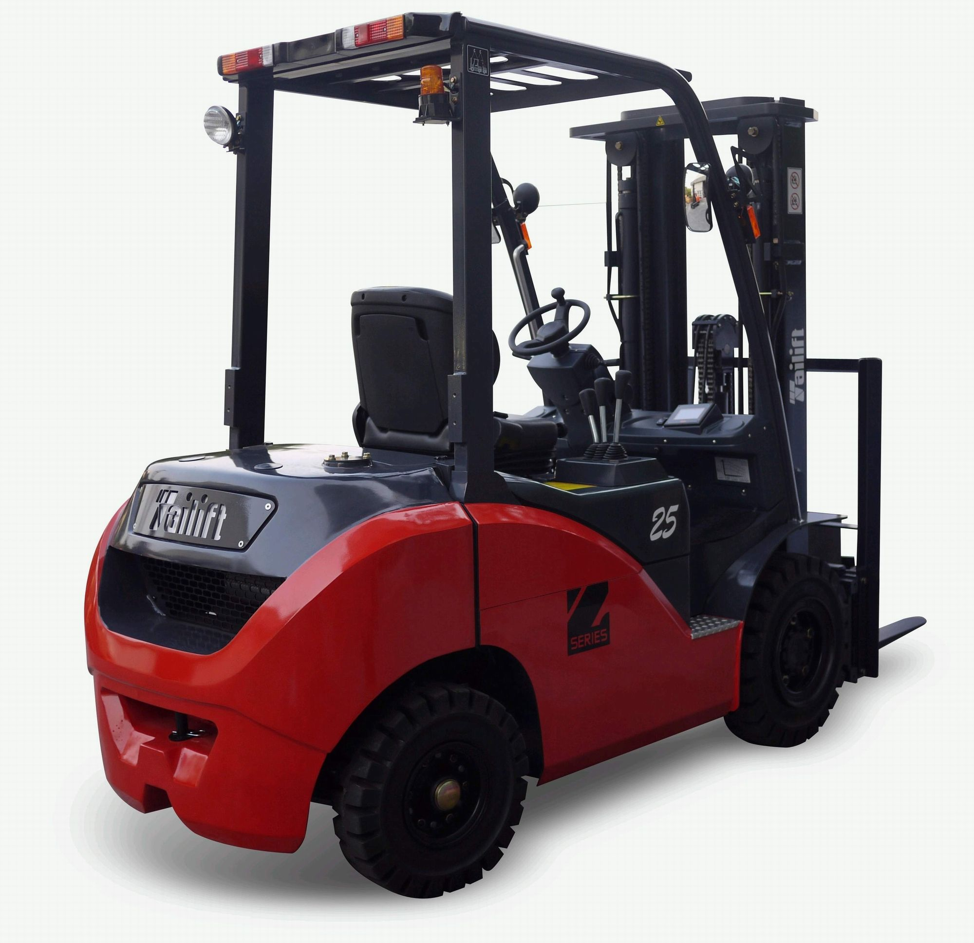 Brandnew forklifts with a fascinating working capacity