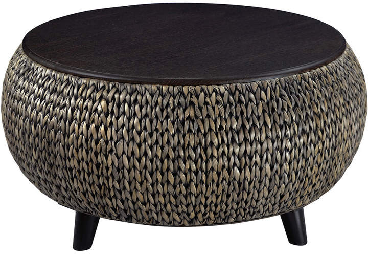 Gallerie Decor Round Storage Table Manualidades
