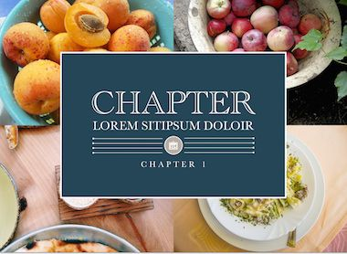 Modern Cookbook Template For Ibooks Author Available At Http