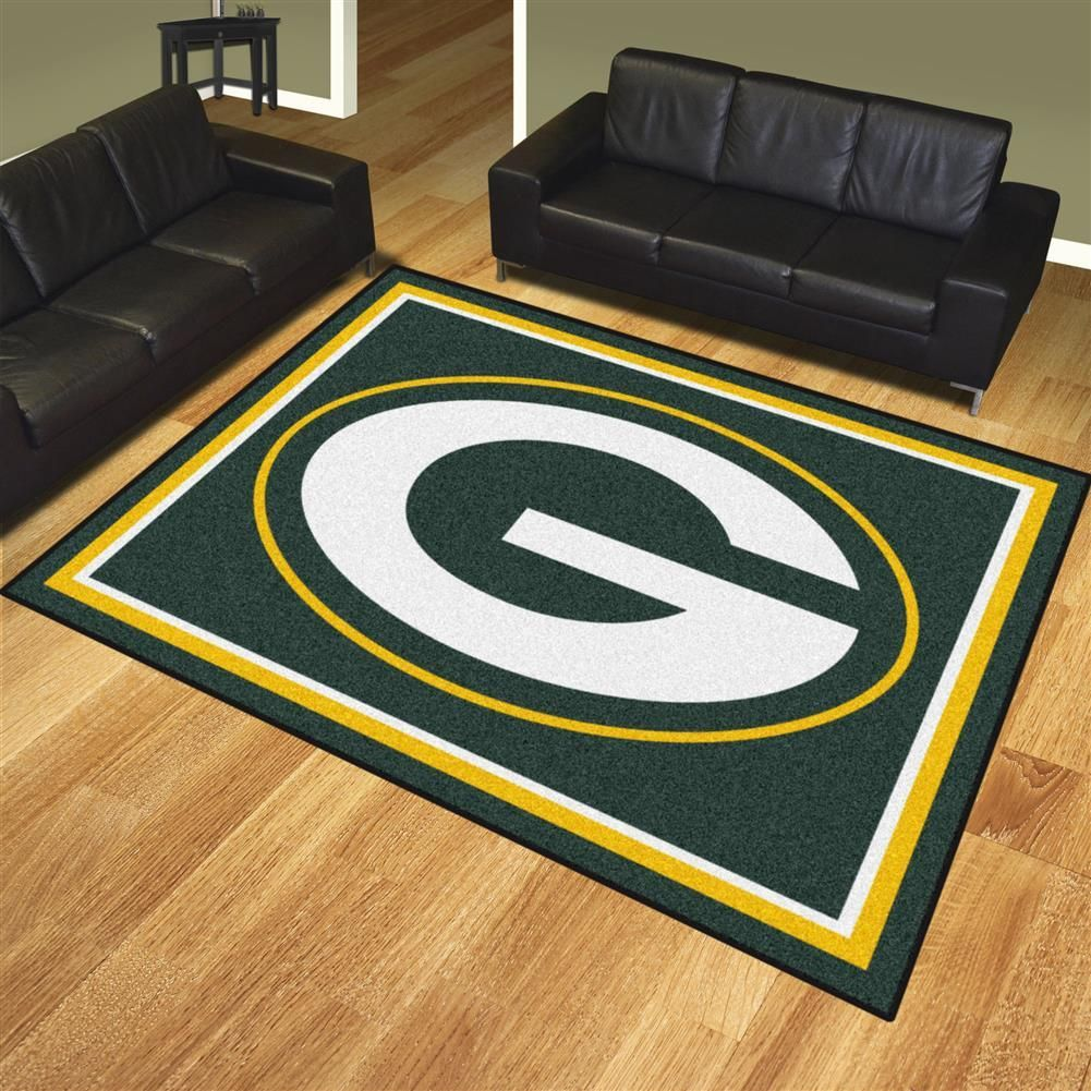 Green Bay Packers Home Decor Area Rug