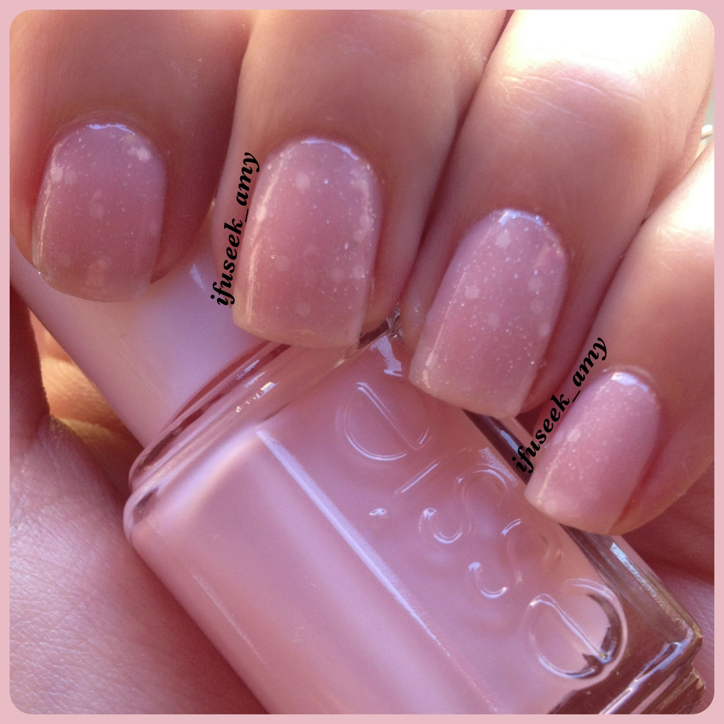 Jelly sandwich OPI-pirouette my whistle Essie-petal pink | NAIL ART ...