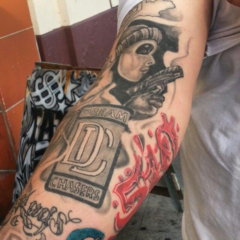 Strength Hood Forearm Sleeve Tattoo Best Tattoo Ideas