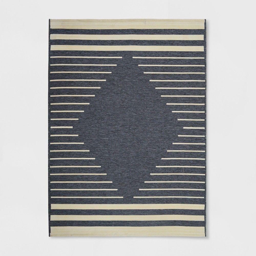 9 X 12 Mod Diamond Outdoor Rug Gray Ivory Project 62 With