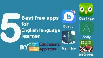 5 Best free apps for English language learners