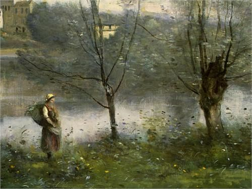 Ville D Avray Camille Corot Landscape Paintings Art Classic Art