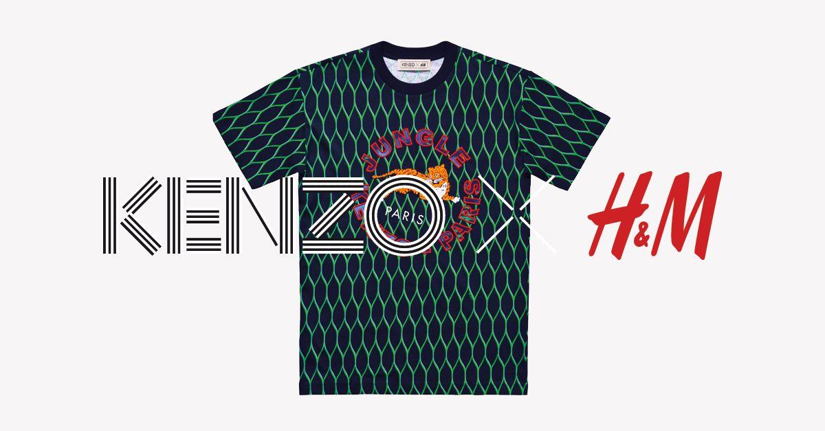 Exprima a sua personalidade com esta peça marcante e colorida da coleção KENZO x H&M. #KENZOxHM