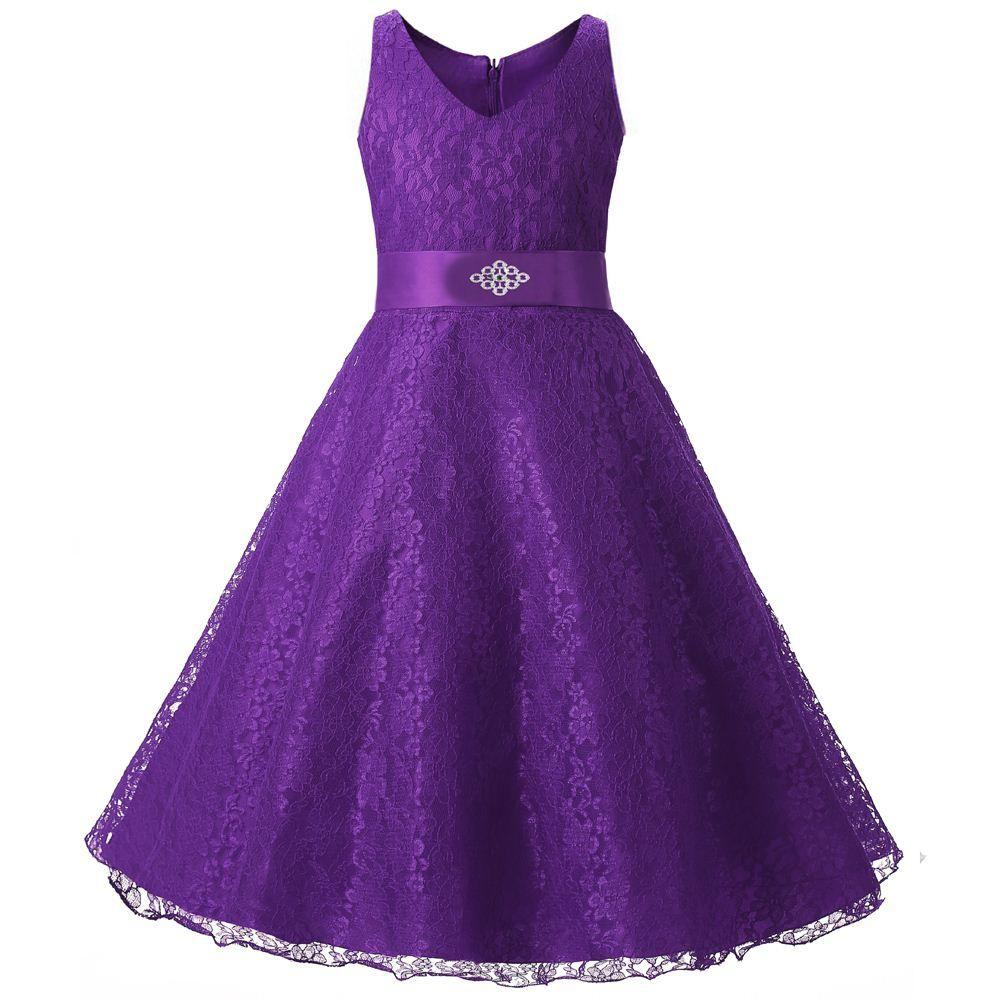 Resultado de imagen para peinados niña cortejo novia | Boda púrpura ...